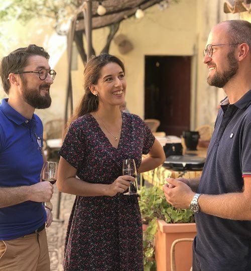 visite de circuit œnologique dans les vignobles de Bandol en Provence