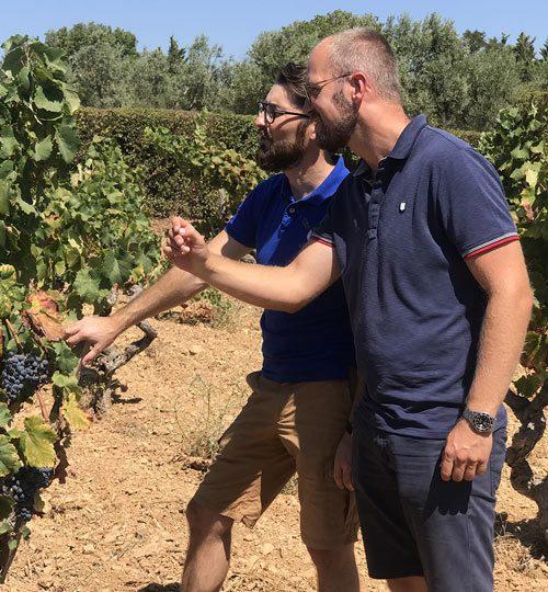 rencontre des vignerons à Bandol
